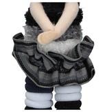 Banzaa Haar Elastiekjes Bewaarpop met Haarelastiekjes – Zwart – 20x6x4cm | Elastische Bandjes Bewaren | 3 Verschillende Formaten Haarbandjes