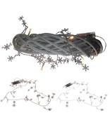 Banzaa 10 led verlichting slinger warm Wit met sneeuwvlokjes-1.20m