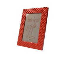 Fotolijst met Relief 14x19cm – Neon Oranje