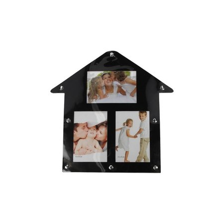 Banzaa Magnetische Fotolijst Huis Vorm – 30x30x1cm   Fotokader   Foto's Ophangen