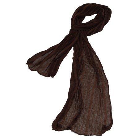 Banzaa Sjaal voor dames Bruin – 170cm | Stijlvolle Damessjaal | Shawl | Fashion accessoire voor Vrouwen