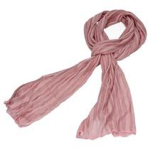 Sjaal voor Dames Oudroze – 170cm