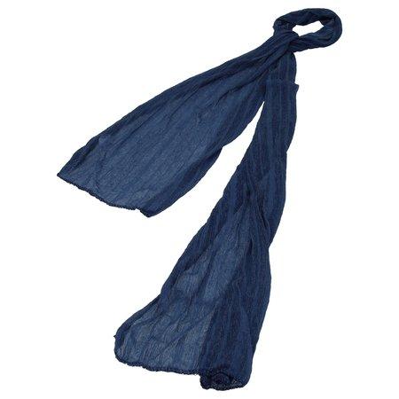 Banzaa Sjaal voor Dames Donkerstaalblauw – 170cm   Stijlvolle Damessjaal    Shawl Fashion Accessoire voor Vrouwen