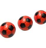 Banzaa Stressbal Medium Density Voetbal 3 Stuks – Sensomotorische Stimulatie – Anti Stress – Oranje