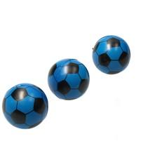 Stressbal Voetbal 3 Stuks Blauw
