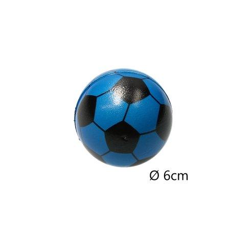 Banzaa Stressbal Medium Density Voetbal 3 Stuks – Sensomotorische Stimulatie – Anti Stress – Blauw
