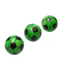 Stressbal Voetbal 3 Stuks Groen