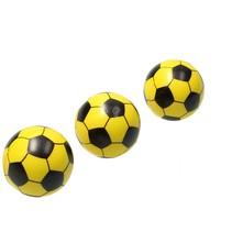 Stressbal  Voetbal 3 Stuks Geel