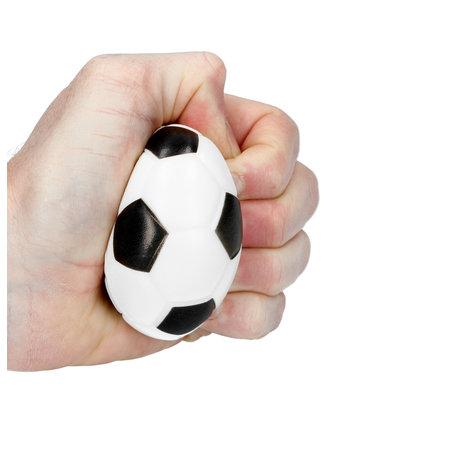 Banzaa Stressbal Soft Density 3 Stuks – 7cm – Sensomotorische Stimulatie – Anti Stress – Voetbal