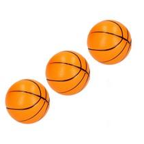 Stressbal Medium Density 3 stuks – 7cm Basketbal