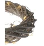 Banzaa 20 led verlichting warm Wit zilverdraad met Sterren ‒ 2.20m