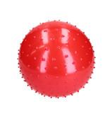 Banzaa BDO Speelbal Educatief – Ideaal voor Binnen – 25 cm – Groot Formaat – Rood