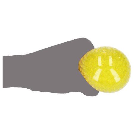 Banzaa Gele Orbeez Mesh Anti Stressbal – 7cm | Versterking van de Hand, Pols en Onderarm | Stress Speelgoed
