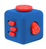 Banzaa Fidget Cube – Wriemel Kubus – Anti-Stress Speelgoed – Wriemel Stick – Blauw Rood