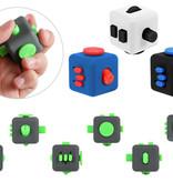 Banzaa Fidget Cube – Wriemel Kubus – Anti-Stress Speelgoed – Wriemel Stick – Zwart Groen