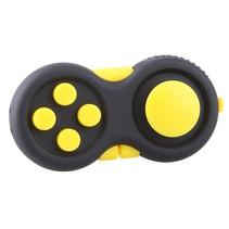 Calm Pad Fidget Pad – Wriemelpad Zwart Geel