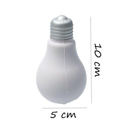 Banzaa Banzaa StressBal Gloeilamp set 3 stuks Medium Density 10 cm Wit