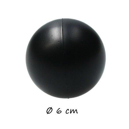 Banzaa Banzaa Stressbal set 3 stuks Medium Density 6cm Zwart