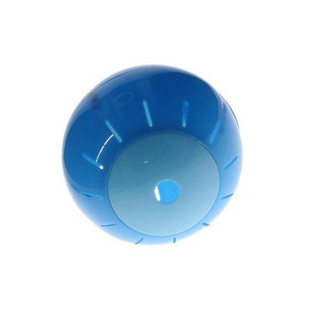 Free and Easy Honden en katten Speelbal Dieren Speelgoed Snacks bal 12,5 cm Blauw