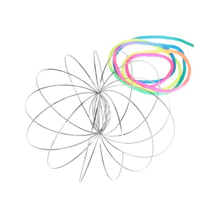 Banzaa Magic flow ring |Spiraal bloem magische armband | 3D ringen set van 3 stuks 6cm