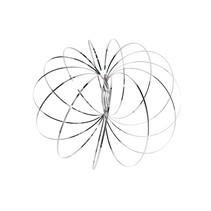 Magic flow ring | 3D ringen set van 3 stuks 15cm
