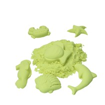 Speelzand 1KG Modelleer zand – Geel