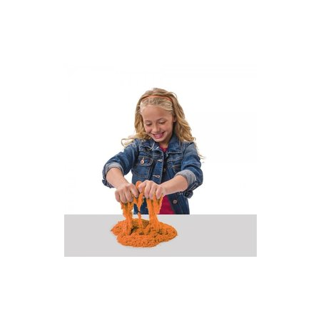 Banzaa Kinetisch Zand 1 Kilo – Magisch Speelzand – Magic Sand – Oranje