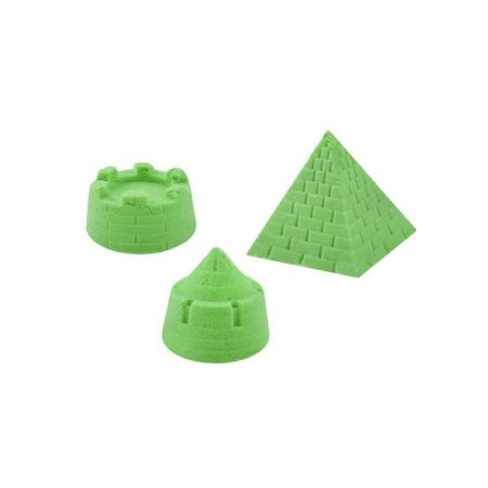 Banzaa Speelzand 1KG – Bewegend Modelleer zand – Groen