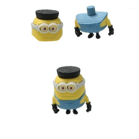 Minions Despicable Me 3 Puzzelgom (8-pack)