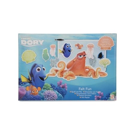 Finding Dory Finding Dory Vilt Set – 30x20x3cm   Vilten voor Kinderen   Knutselpakket Dory Set