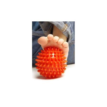 Banzaa Massagebal Professionele Triggerpoint Bal – 7cm – 2 Stuks – Hoge Dichtheid Massage Stekels – Lacrossebal – Fluorescerend Oranje