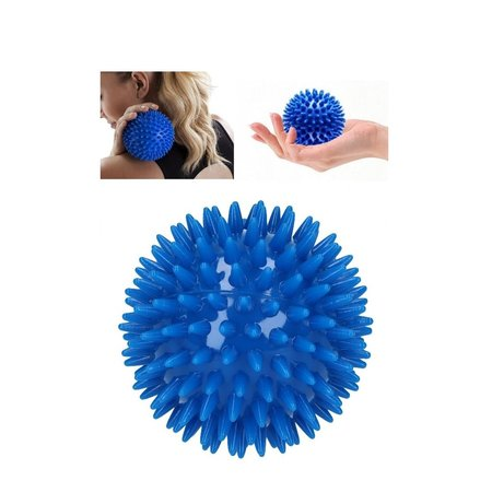 Banzaa Massagebal Professionele Triggerpoint Bal 3 Stuks 8cm  Hoge Dichtheid Massage Stekels – Lacrosse Bal – Blauw