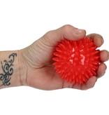 Banzaa Massagebal Professionele Triggerpoint bal 3 Stuks 8cm – Hoge Dichtheid Massage Stekels – Lacrossebal – Rood