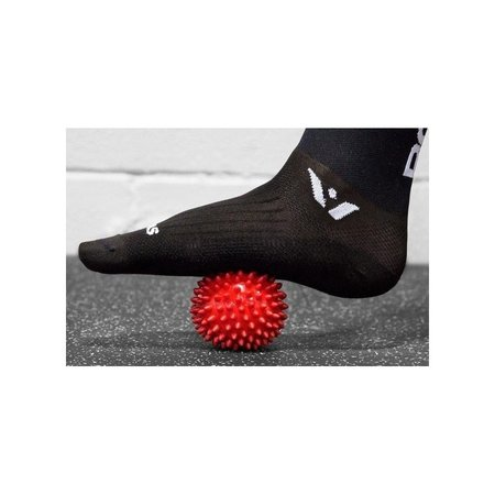 Banzaa Massagebal Professionele Triggerpoint Bal – 8cm Hoge Dichtheid Massagestekels – Lacrossebal – Blauw
