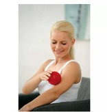 Banzaa Massagebal Professionele Triggerpointbal 8cm Hoge Dichtheid Massagestekels – Lacrossebal – Rood