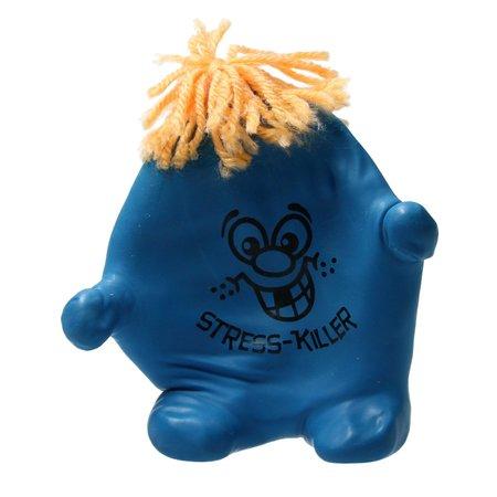 Banzaa Stressbal Kneedbaar poppetje – Versterking van Hand Pols en Onderarm – Blauw