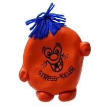 Stressbal Kneedbaar poppetje – Versterking van Hand Pols en Onderarm – Oranje