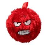 Banzaa Kinderbal voor Binnen met Vrolijk gezichtje – Zachte Bal 15cm – Rood