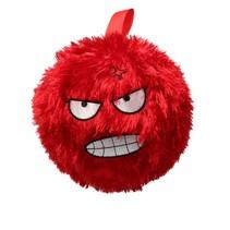 Kinderbal  Vrolijk gezichtje Rood