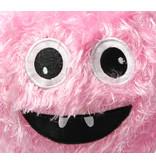 Banzaa Kinderbal voor Binnen met Vrolijk Gezichtje – Zachte Bal 15cm – Roze