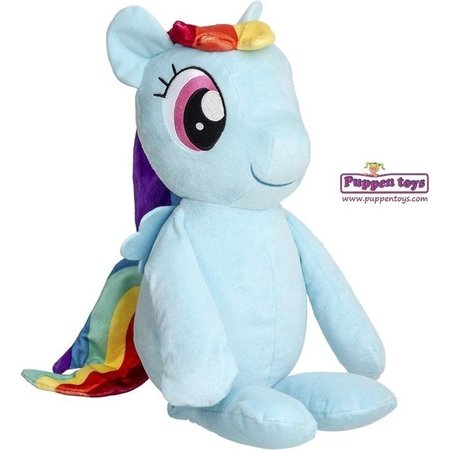 Hasbro My Little Pony Rainbow Dash Huggable Knuffelpop 55 cm