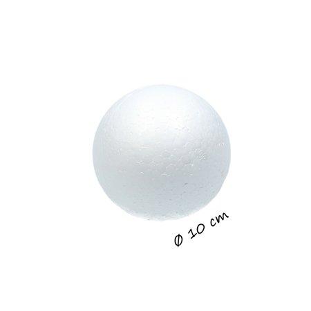 Banzaa Piepschuim Ballen 10cm  Styrofoam4 Stuks