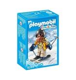 Playmobil PLAYMOBIL Family Fun Skiër op snowblades - 9284
