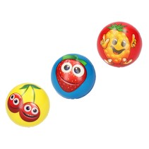 Stressbal Medium Density  fruit– 7 cm - 3stuks
