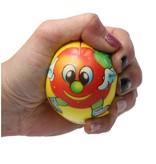 Banzaa Stressbal Hard Density – 7,5 cm – Sensomotorische Stimulatie – Anti Stress – 3 stuks – Met Afbeelding Fruit