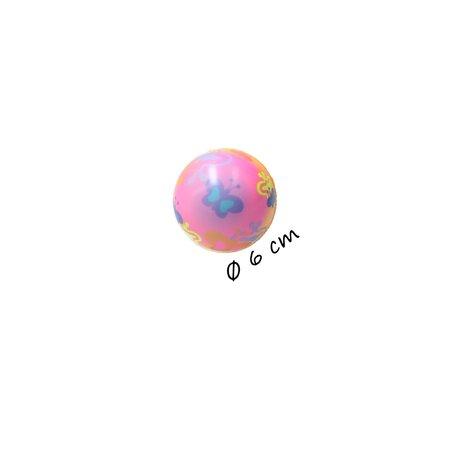 Banzaa Stressbal Medium Density – 6 cm – Sensomotorische Stimulatie – Anti Stress – 3 stuks – Regenboog Vlinder