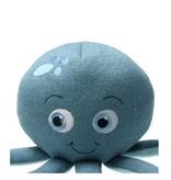 Sea Happy Sea Happy Gebreide knuffel Inktvis 25x15cm Luna