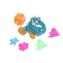 Speelzand Vliegtuig Modelleer zand 350 Gram Blauw
