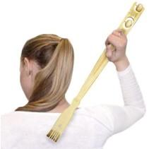 Bamboe Massage Rugkrabber