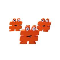 Stressbal Hashtag Medium Density 3 stuks # Oranje
